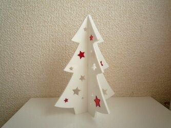 アクリル卓上クリスマスツリーの画像