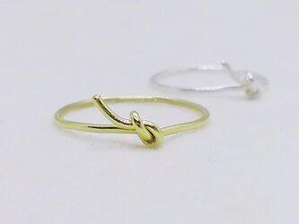 Simple knot・mini(真鍮)の画像