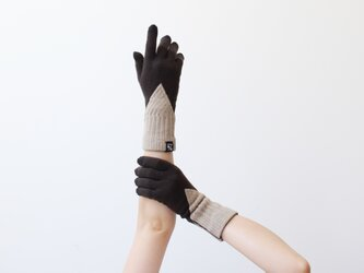 % PERCENT 手袋(FIT:ダークブラウン・ベージュ)ギフトBOX付 スマホ対応 裏起毛 グッドデザイン賞受賞の画像