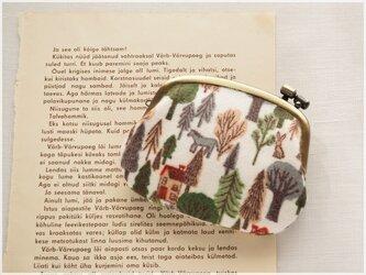 ■横ひねりがま口コインケース / 森の物語■ panier(mrst)の画像