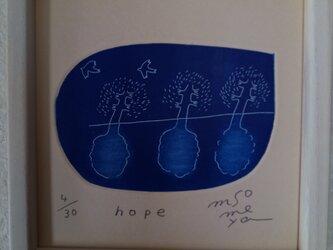 銅版画 『hope』の画像