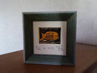 銅版画 『a fish』の画像