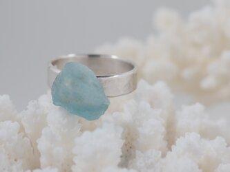 藍玉の指輪の画像