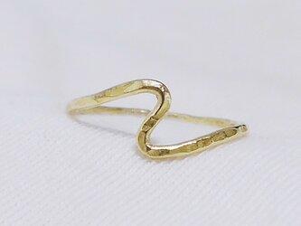 Edge ring(槌目・真鍮)の画像