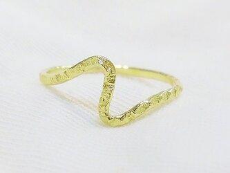 Edge ring(Stardust・真鍮)の画像