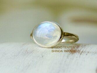 子兎のmoonストーン ringの画像