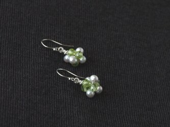 Green&Silver Particlesの画像