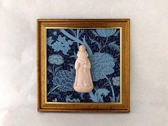【掛仏S】 聖観音 William Morris クレイ(紺)の画像