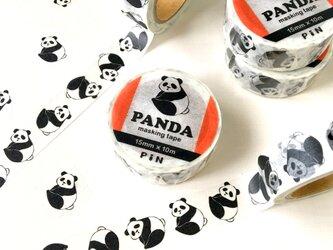 パンダのマスキングテープ | PiNオリジナルデザイン 動物の画像