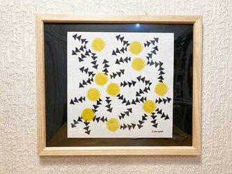 ミモザ- mimosa-  インテリアイラストポスターの画像