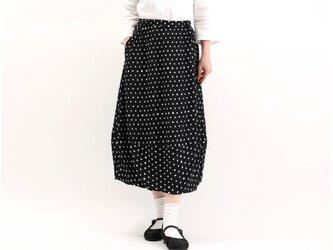 バルーンスカート(黒✖️白)#361の画像