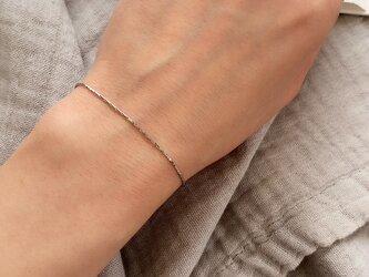 316L Simple metal braceletの画像