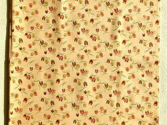 暖簾 お部屋の間仕切り製作も可 黄土色茶色ふくろうの画像