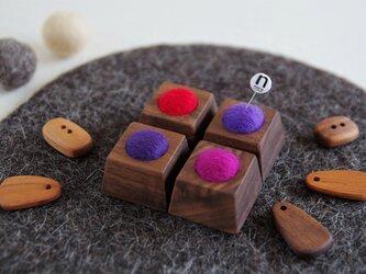 『新作』チョコっとピンクッション mixberryの画像