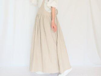 A様オーダー専用画面♡春支度♪リネンのお洋服set up♪2wayサスペンダースカート&キャンディスリーブプルオーバー♡の画像