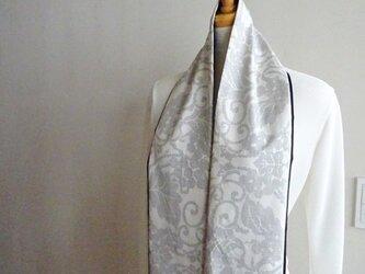 春待ちの白大島スカーフ(壱)の画像