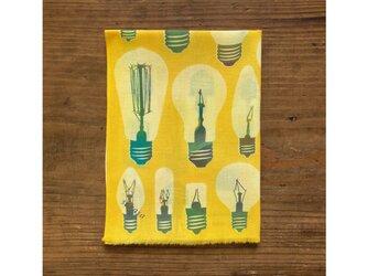 手ぬぐい[電球]黄の画像