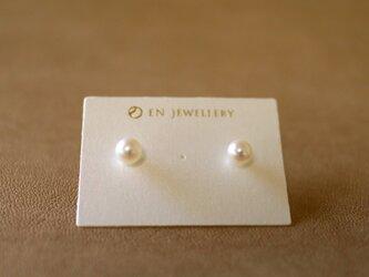 Sot.to SV925 6mmアコヤ真珠のスタッドピアスの画像