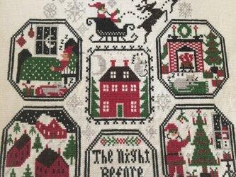 K様オーダー分クロスステッチマット(ハロウィン&クリスマス)の画像