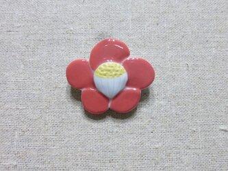 椿ブローチの画像