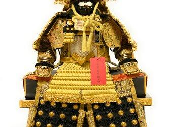 新商品 五月人形 鎧飾り 白鐘(しろがね)5号大鎧収納飾りの画像