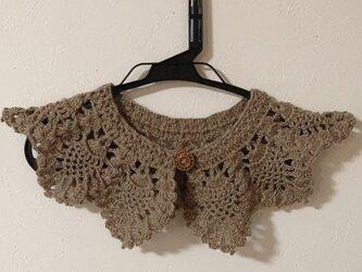 ウール つけ襟の画像