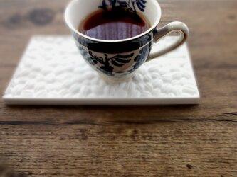 【珈琲好きな方へのギフトに】 アロマストーン ■ 珈琲豆モチーフのプレート ■6種類から香りが選べるの画像