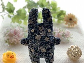 紺花柄のフニータの画像