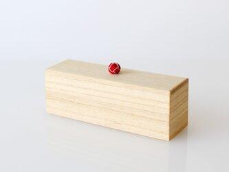 KEI くみひも小箱(M)お薬 小物 文具 コットン 綿棒 などの収納にの画像
