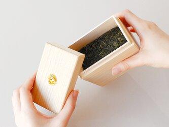KEI ティーキャニスター(L) 茶筒 茶箱 茶葉 小物入れ お薬入れ などにの画像