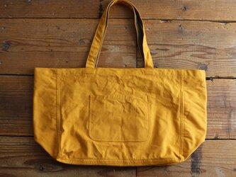 hanpu A3-tote : mustard :の画像