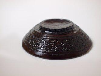 小皿「青海波」の画像