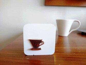 珈琲屋さんのアロマストーン ■ モチーフブロック C ■ 6種類から香りが選べるの画像