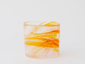 iro マーブル(オールドファッション):オレンジの画像