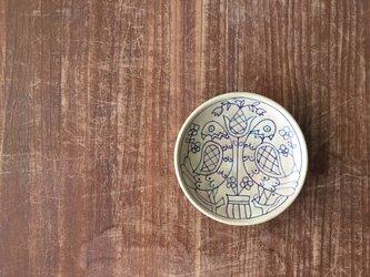 5寸深皿 鳥彫マジャール紋の画像