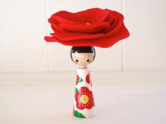 *あなたの為に咲く花*指人形・hand puppet[82]の画像