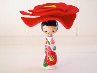 *あなたの為に咲く花*指人形・hand puppet[83]の画像