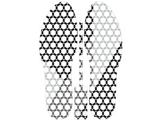 グラフィックインソール SOKO(キモノ:コウシ)中敷き・縞・和柄・消臭の画像