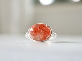 太陽の贈り物 サンストーン ringの画像