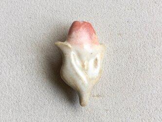 陶ブローチ チューリップの画像