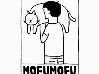 猫のおなかモフモフ 男子【 猫 選べます Tシャツ 】の画像
