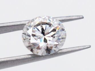 1.1ct モアサナイト 1粒 7mm ブライダルジュエリー ウエディング ダイヤモンド 素材 パーツの画像