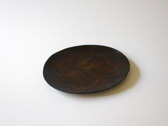 【一点物】楕円平小皿 / (S/carving plate:5871)の画像