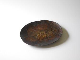 【一点物】楕円平小皿 / (S/carving plate:5877)の画像