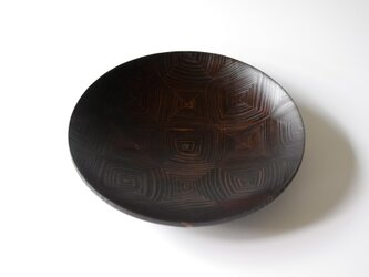 【一点物】22cm浅鉢(L size turning shallow bowl:6025)の画像