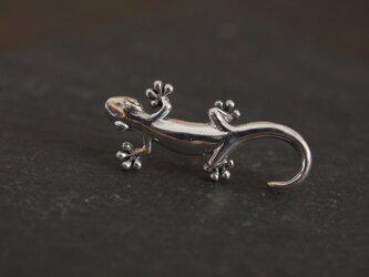 蜥蜴(大)のピンブローチの画像