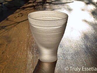 無色透明のグラス -「 The Vessel of Light - 月明かりのうつわ」● 高さ10cmの画像