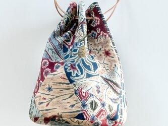 ヴィンテージ帯 バスケットバッグ Kimono seriesの画像
