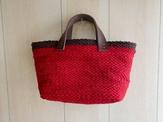 裂き織りbagの画像