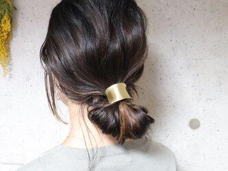 【送料無料】【美容師が考えたポニーフック】【konami】(ヘアフック・ヘアカフ)真鍮製 /ヘアアクセサリー/フォーマルの画像